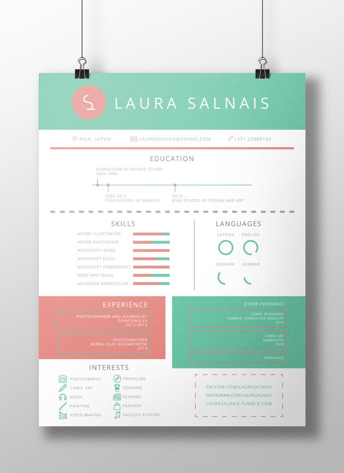 Resume by Laura Salnais