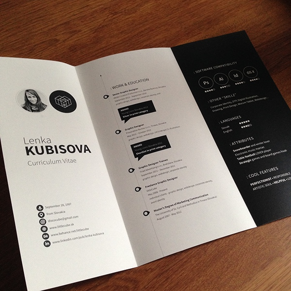 Resume by Lenka Kubisova1
