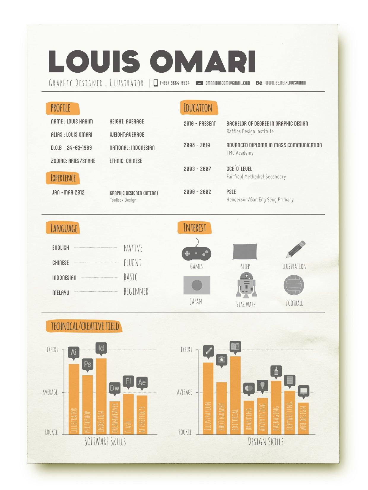 Resume by Louis Omari