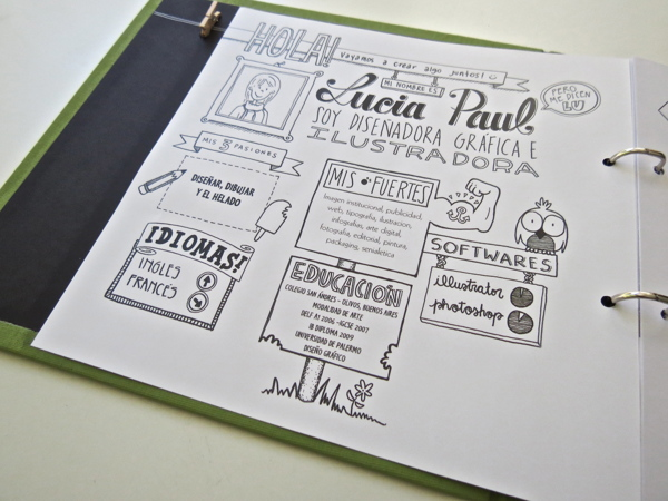 Resume by Lucia Paul