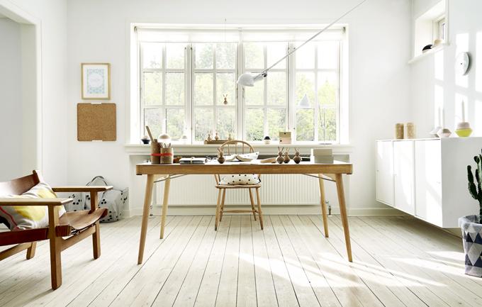 Stellar workspace setup by OYOY Interior Design of Denmark