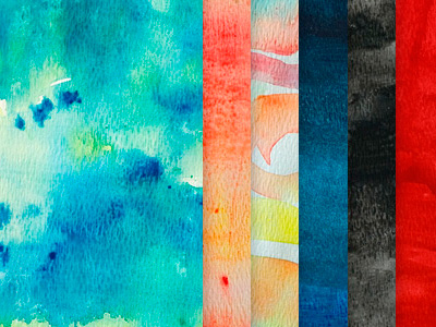 Watercolour Textures Pack by Geri Coady