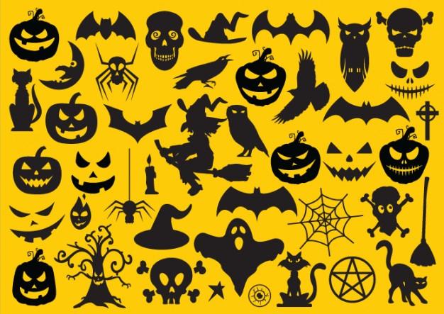 20 Free Halloween Elements