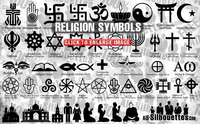 51 Religion Symbols