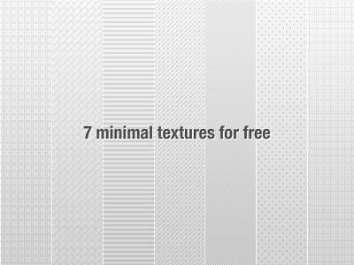 7 Textures Patterns by Tsvetelin Nikolov