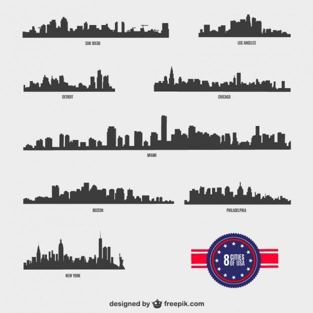8 American Cities