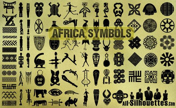 81 African Symbols