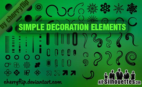 81 Decoration Elements