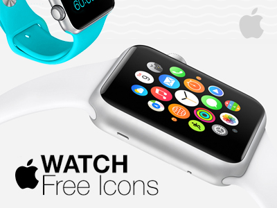 Apple Watch Free Icons by Ahmed Barakat