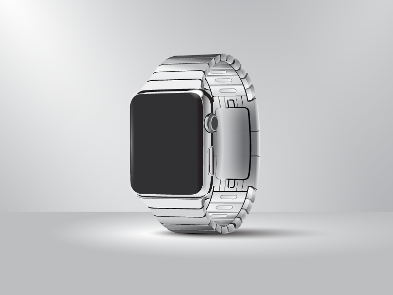 Apple Watch Free Vector (Illustrator) by Gavin Simpson