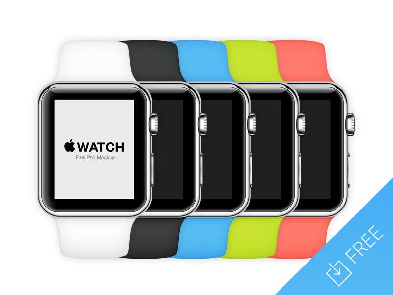 Apple Watch Mockup by Medialoot