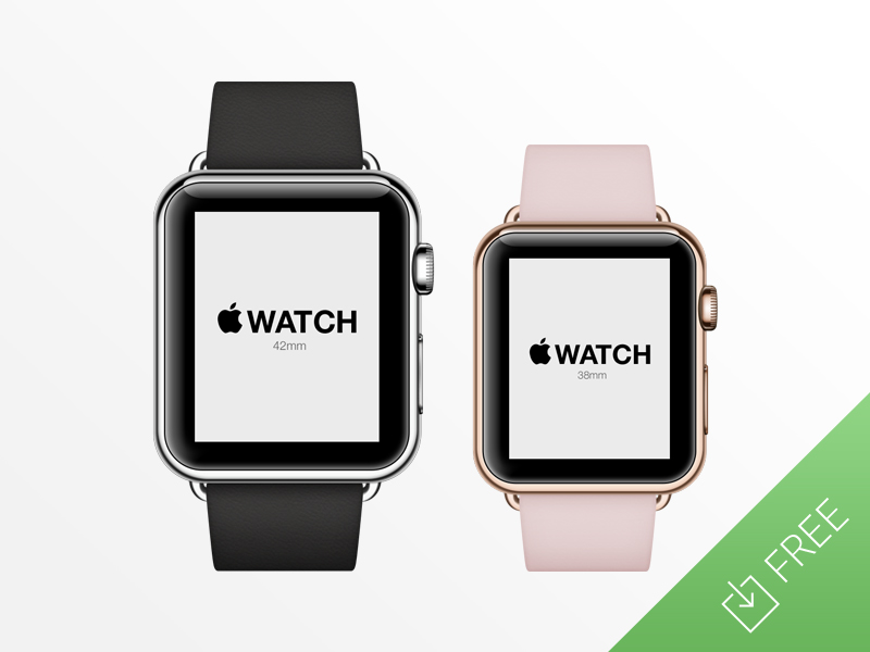 Apple Watch PSD Mockup by Tony Thomas