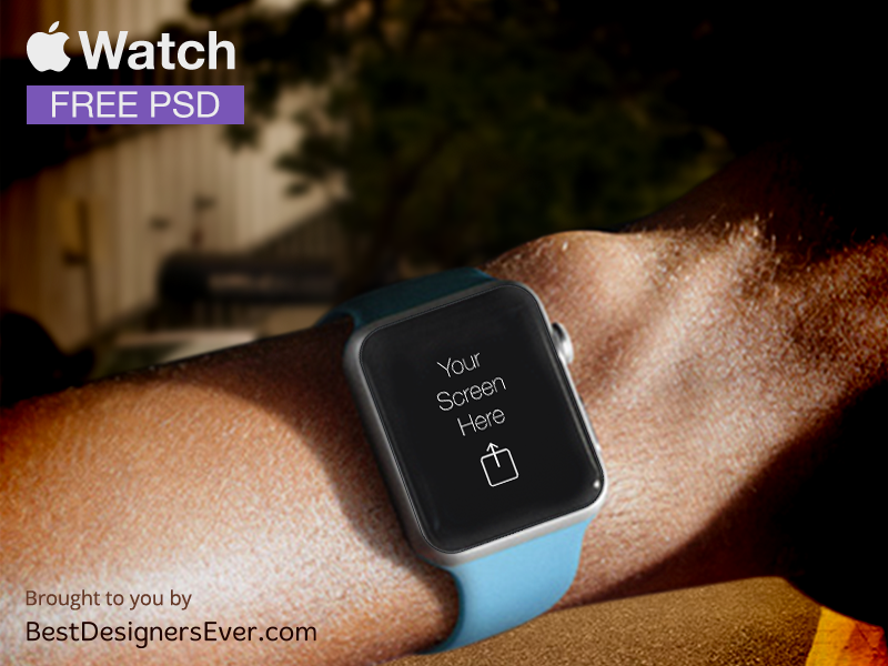 Apple Watch Template free PSD by Best Designers Ever