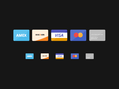 Flat Credit Cards by Ian Silber