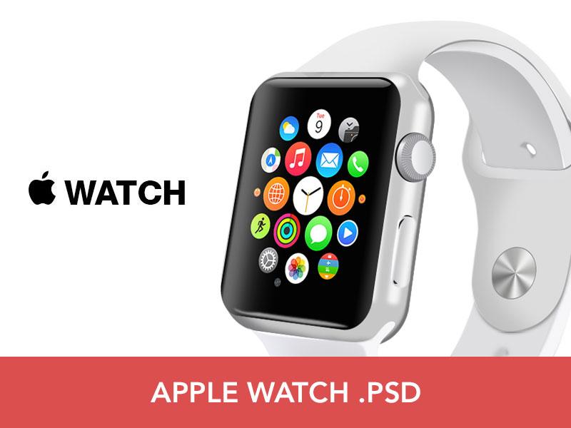 Free Apple Watch PSD by Sean Geraghty
