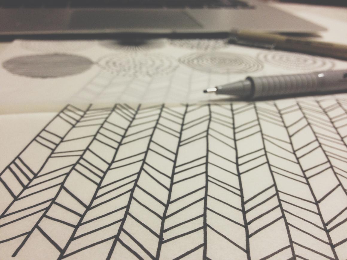 Hand drawn patterns4