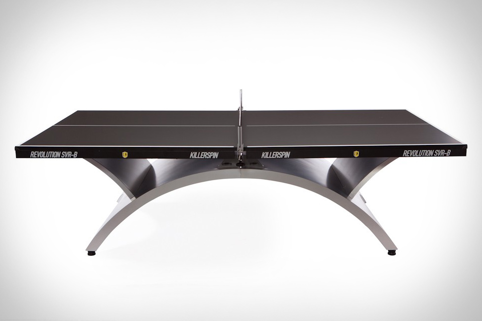 Killerspin SVR Black Ping Pong Table