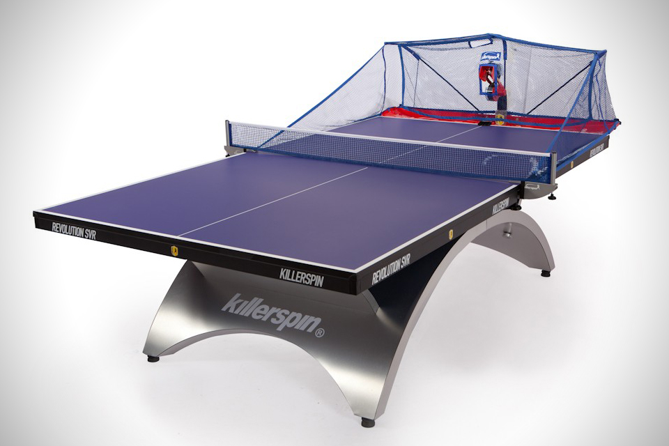 Killerspin Throw Table Tennis Robot