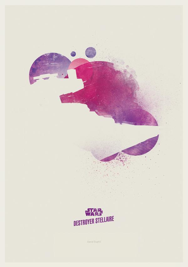 Minimalist Star Wars by David Duphil1