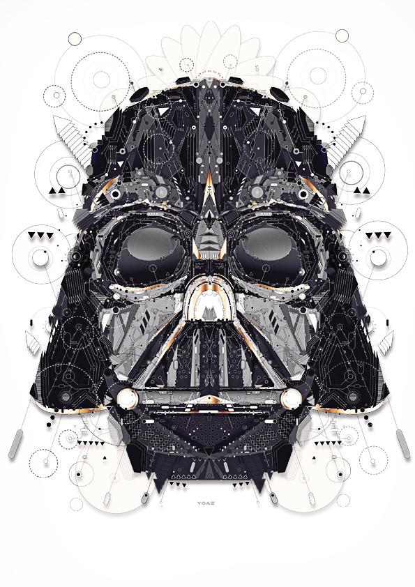 Star Wars Illustrations by Yo Az