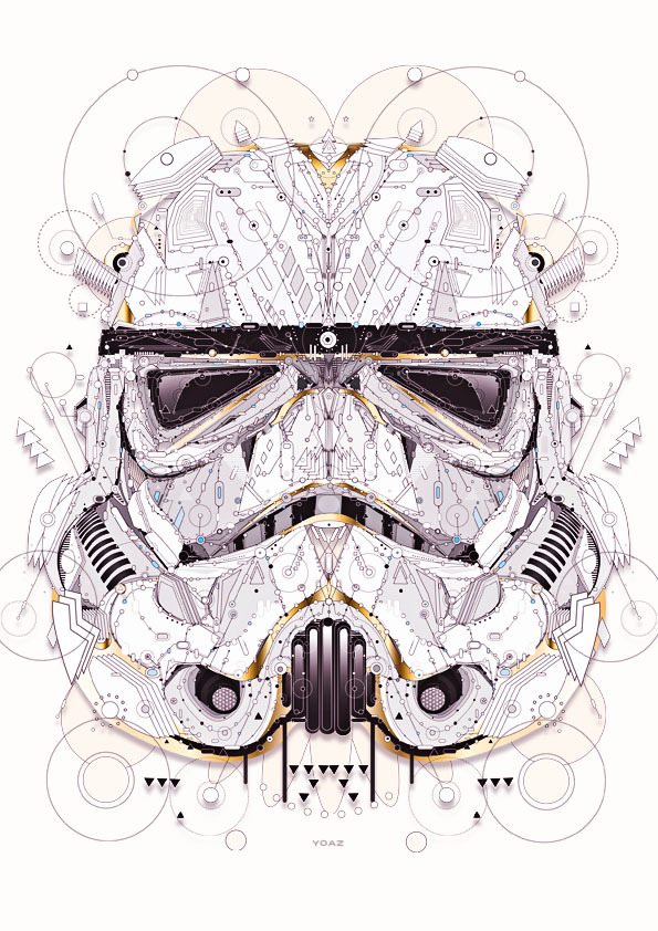 Star Wars Illustrations by Yo Az1