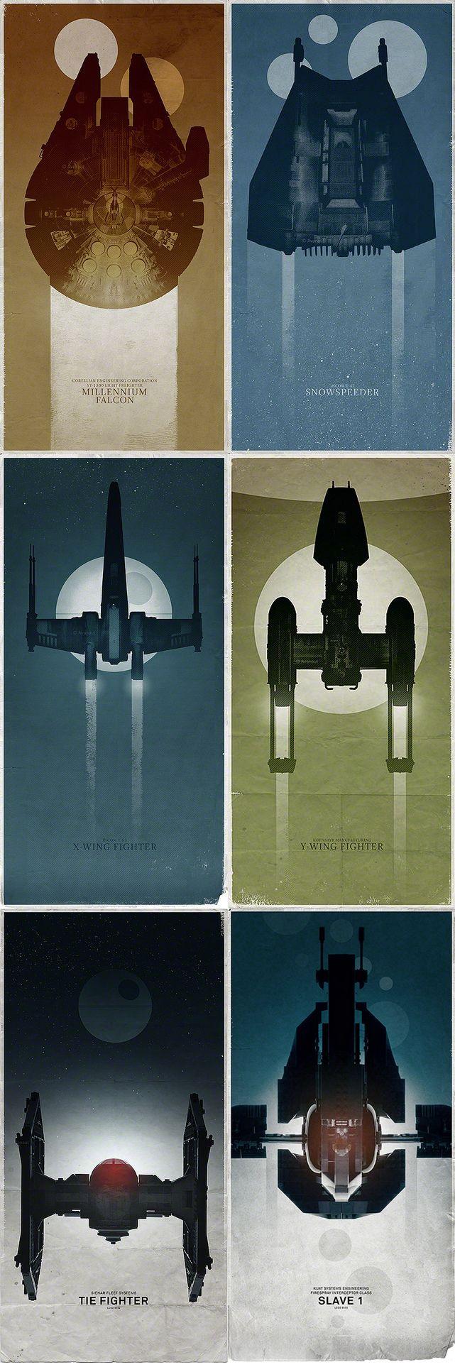 Star Wars Ships by Vesa Lehtimäki