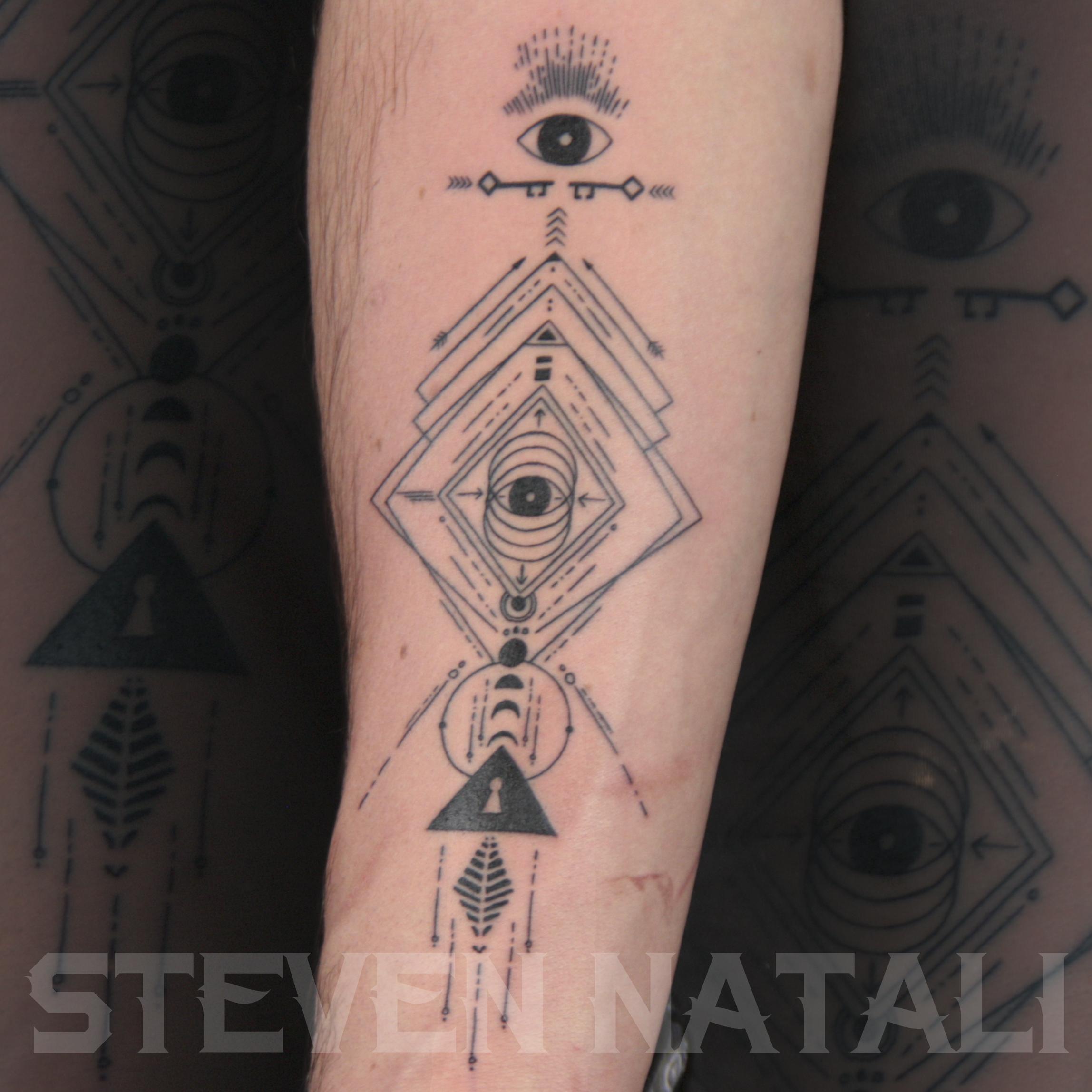 Tattooed by Steven Natali at Urban Element Tattoo. Denver, CO