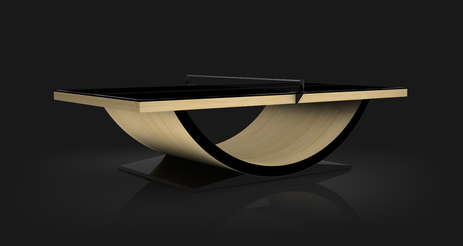 Theseus Bamboo Table Tennis Table