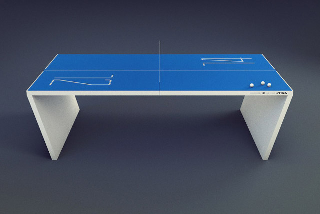 Waldner Next Generation Ping Pong Table