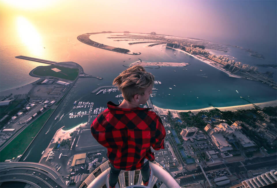 Best View In Dubai by Oleg Sherstyachenko