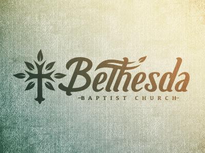 Bethesda Baptist Church Full Logo by Mike Jones