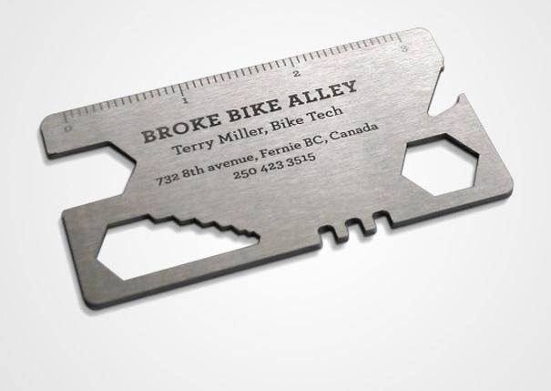 Bike Multi-Tool Business Card