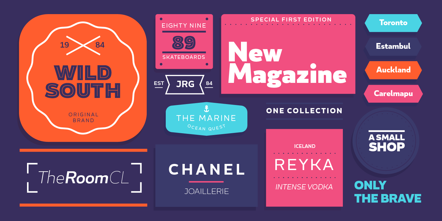 60 Beautiful Free Fonts for Designers | Inspirationfeed - Part 2