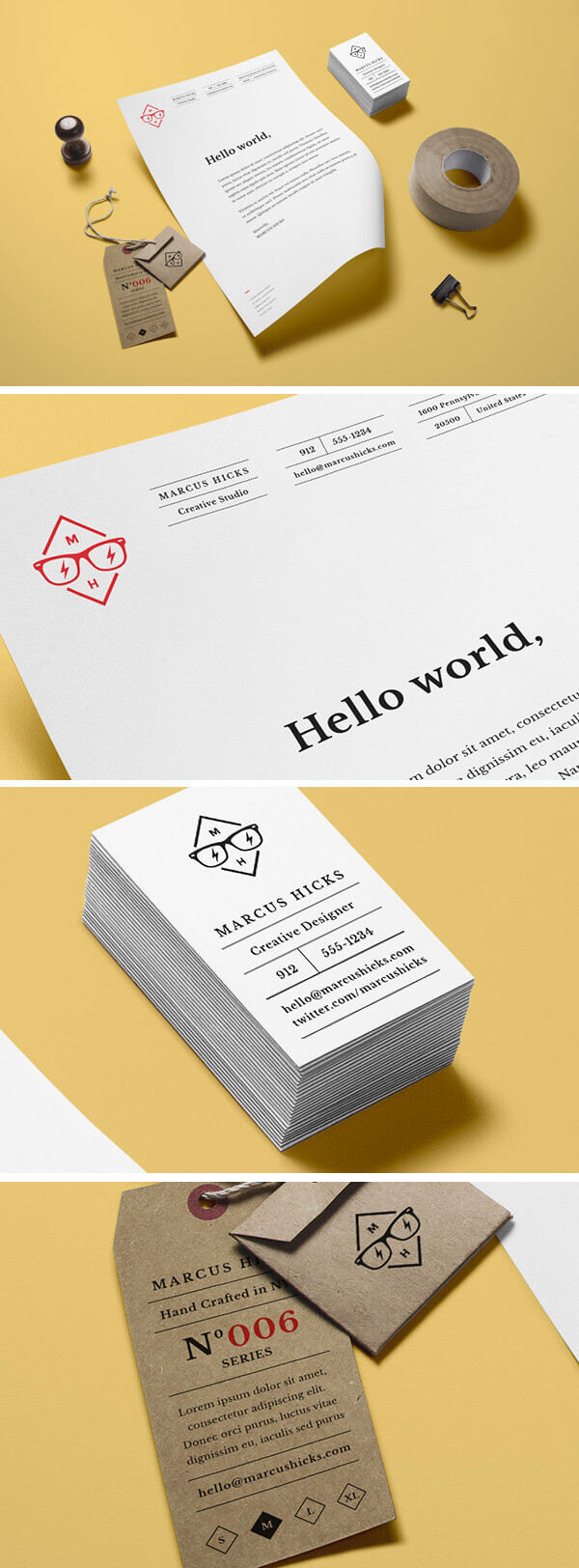 Branding : Identity MockUp Vol.14