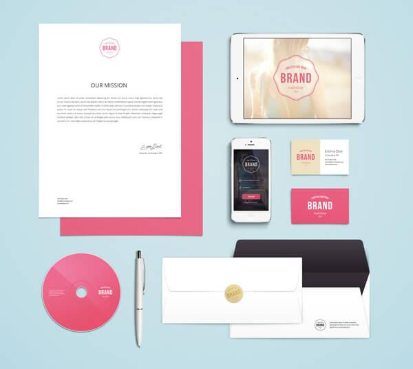 Branding : Identity MockUp Vol.4