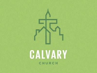 Calvary Church Logo by Derek Hollister