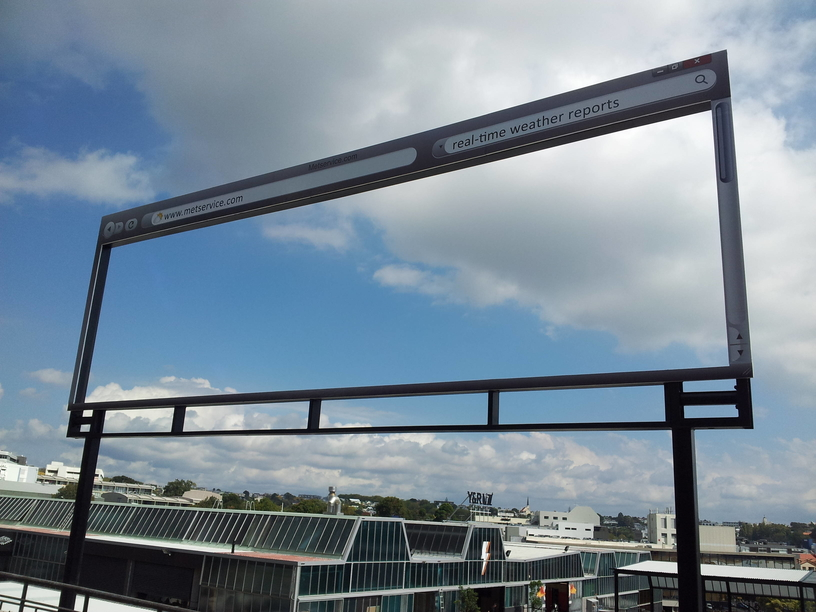 Clever Weather Billboard