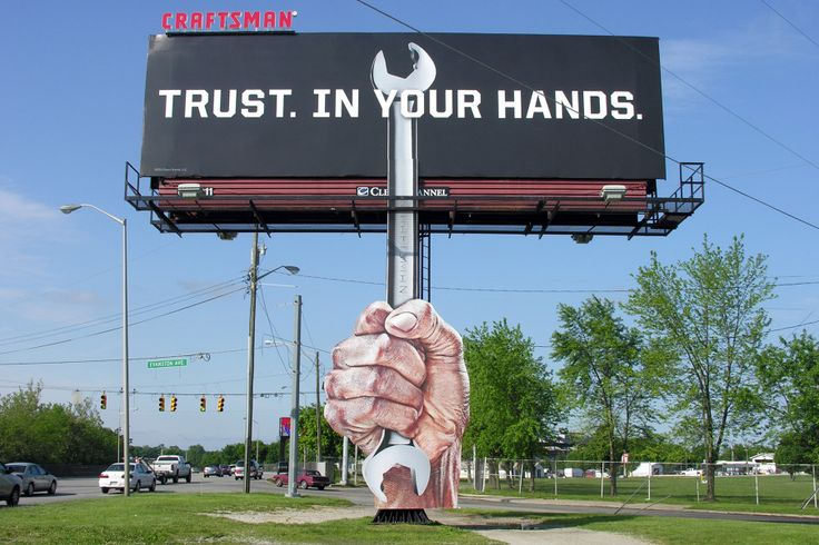 Craftsman Billboard
