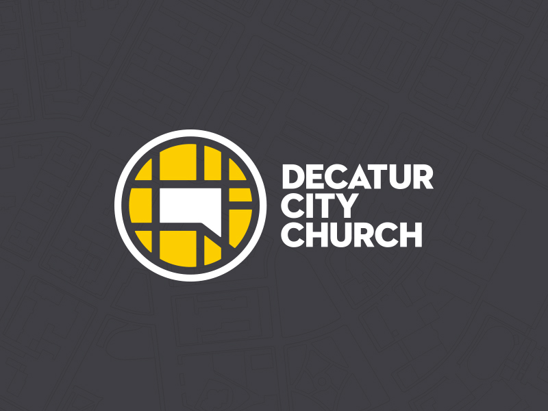 Decatur City Church Branding by Brooks Hungate