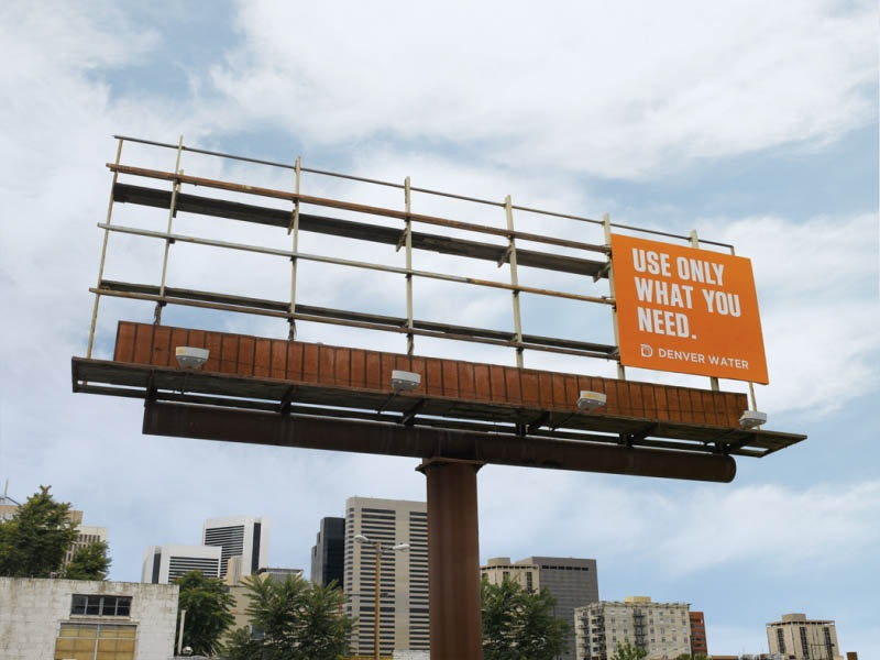 Denver Water Billboard
