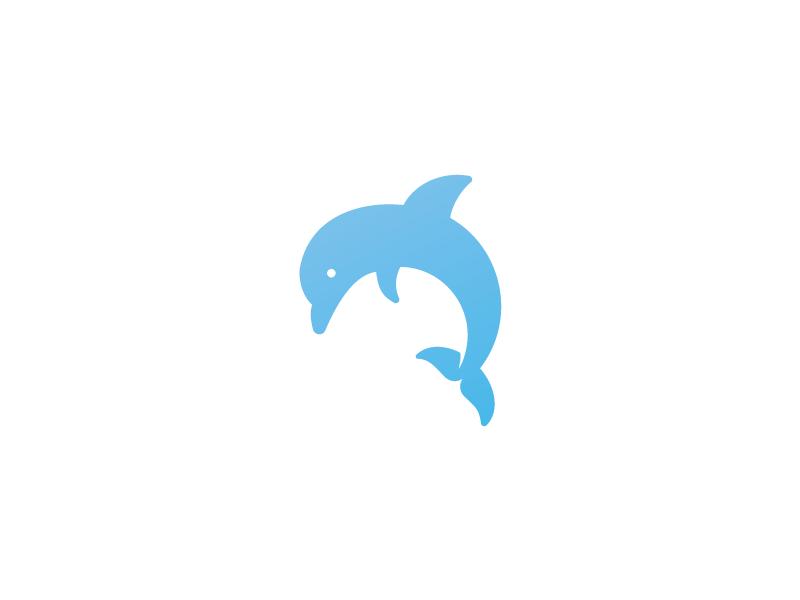 Dolphin Logo by Jord Riekwel