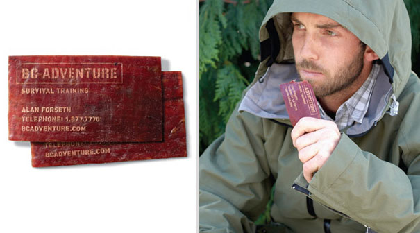 Dried Meat Business Card