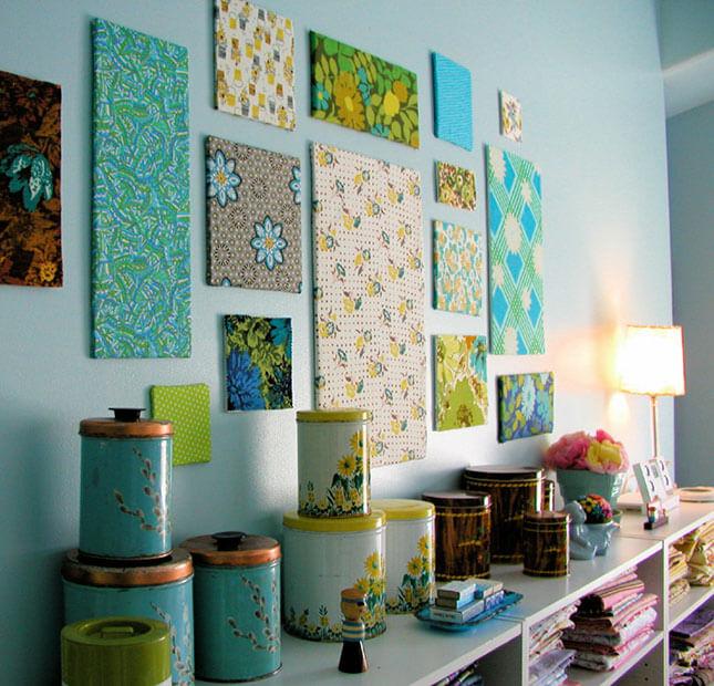 Fabric Panel Wall Art from Bella Dia