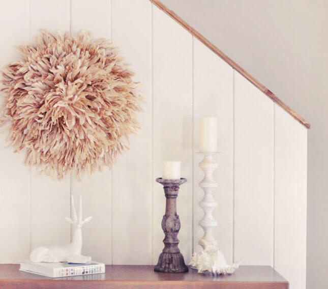 Feather Wall Art DIY from Love Meagan