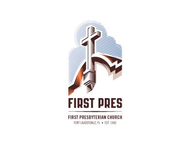 First Pres church logo by Jon Stapp