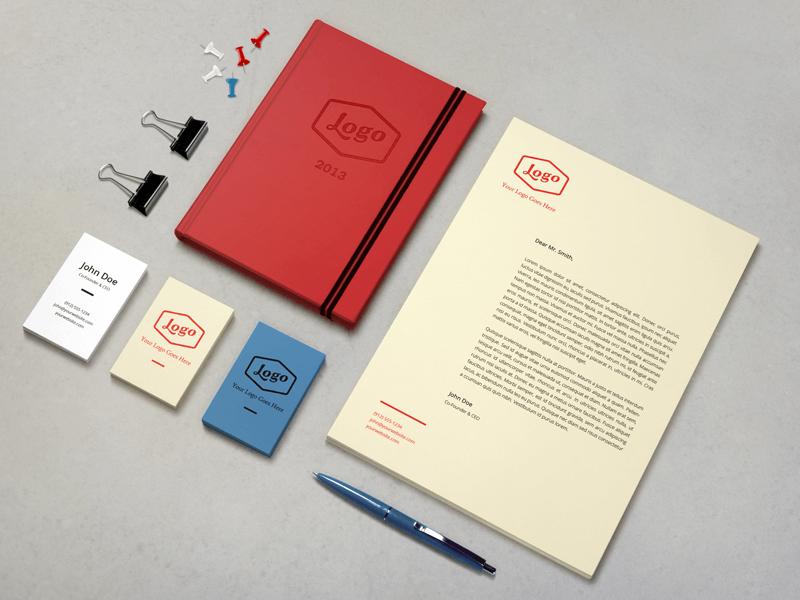 Identity : Branding Mock-Up by Raul Taciu