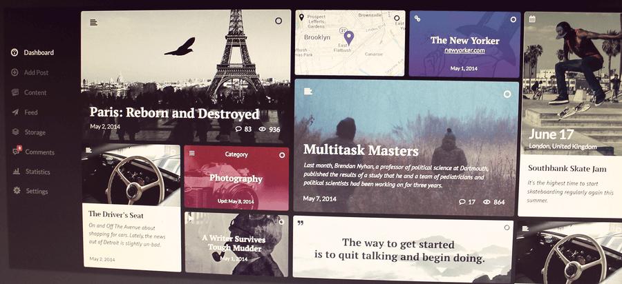 Ink- WordPress Content by Kyril Ku
