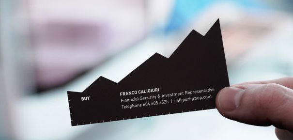 Investment Representative Business Cards