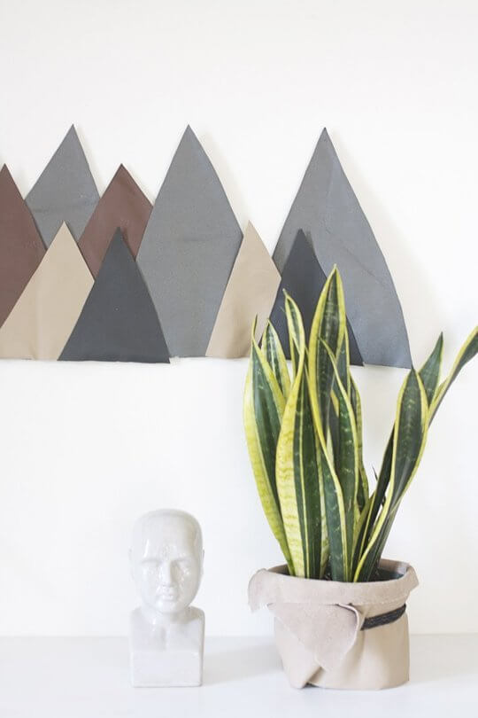 Leather mountain range from Hello Lidy