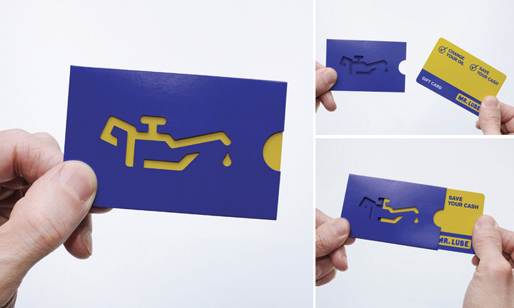 MR. Lube Business Card